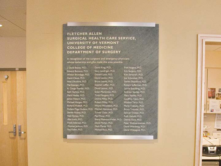Donor Recognition Plaques | Wood and Wood Signs