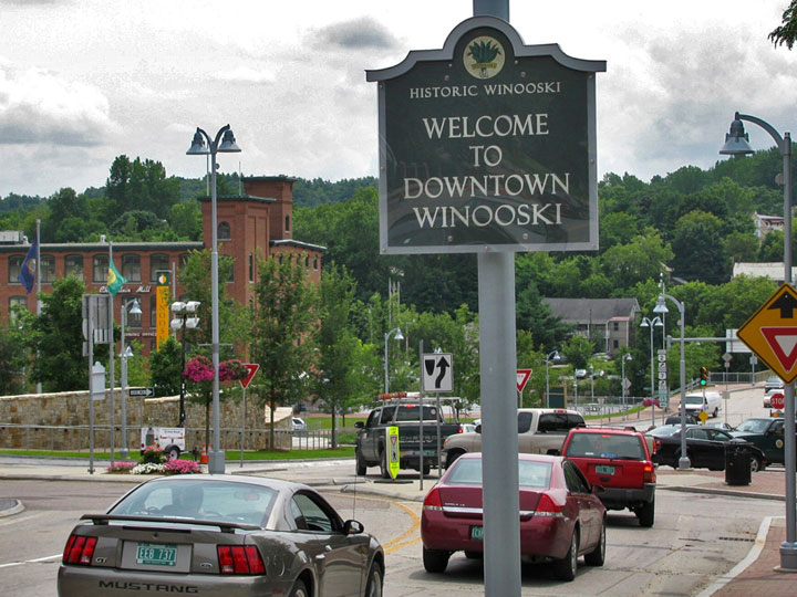 Town Of Winooski Wood And Wood Signs