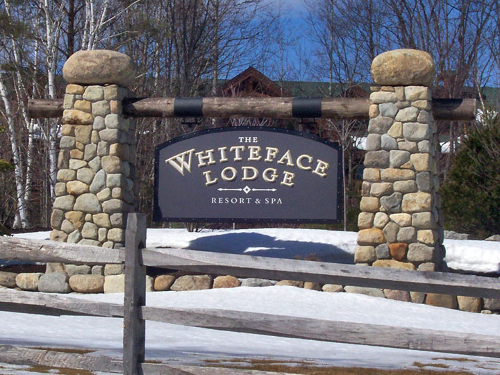The Whiteface Lodge Wood And Wood Signs